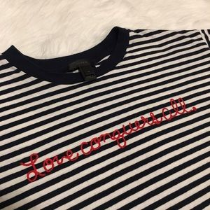 J.crew love conquers all Women's size medium